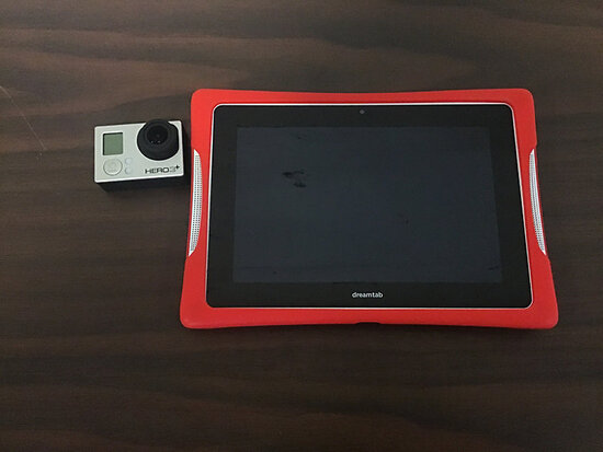 Go Pro Hero 3 and Dream Tab (Used) (No Chargers) NOTE: This unit is being sold AS IS/WHERE IS via Ti