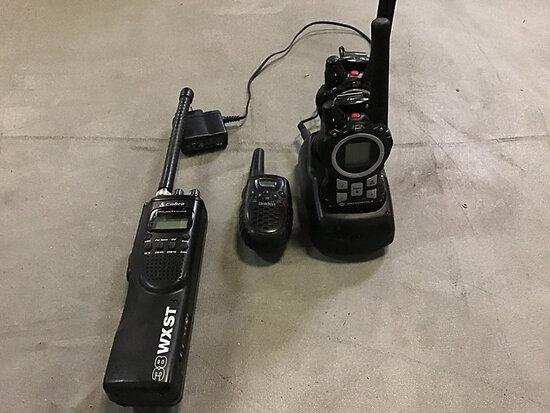 Set of Hand Held Radios Used