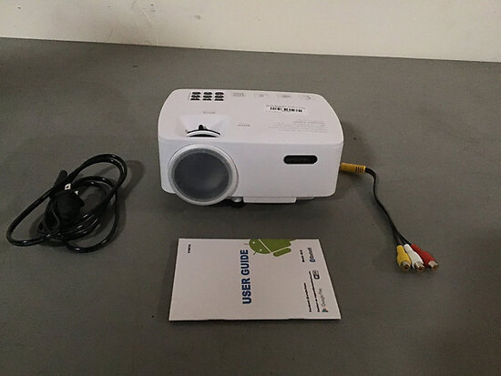 Erisan Home Projector (Used) NOTE: This unit is being sold AS IS/WHERE IS via Timed Auction and is l
