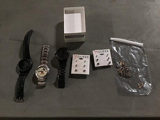 (3) Watches Used
