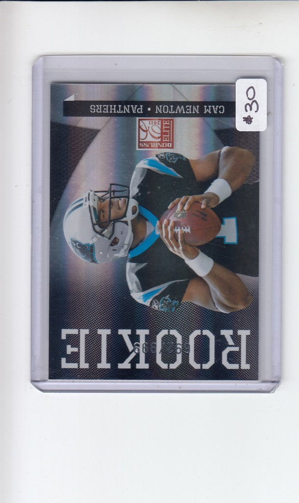 Lot Cam Newton 2011 Donruss Elite Rookie Card Proxibid Auctions