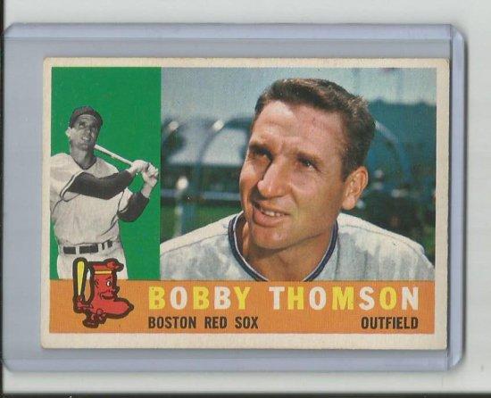 BOBBY THOMSON 1960 TOPPS #153