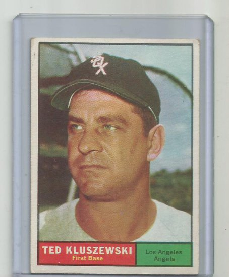TED KLUSZEWSKI 1961 TOPPS #65