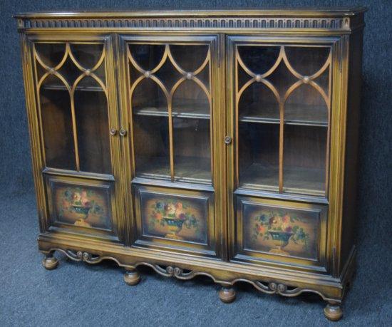 Vintage Sideboard Curio Cabinet