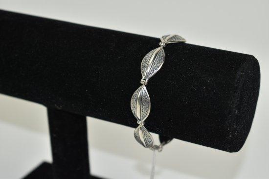 .925 Sterling Silver Milo Bracelet