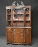 Antique Federal Style China Cabinet