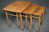 Mid Century Nest Of 3 Tables