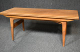 Mid Century Adjustable Height Coffee Table