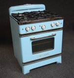 Big Chill Retro Style 4 Burner Gas Stove W/Oven