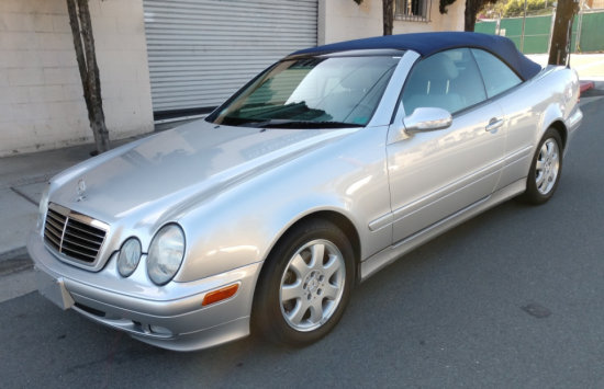 2002 Mercedes Benz CLK 320