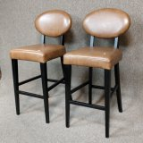 2 Bonded Leather Barstool's