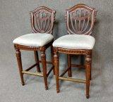 2 Upholstered Barstools