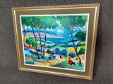 Artist Signed Framed Acrylic Painting