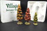 Department 56 Holiday Village Autom Tree Set