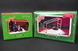 2 Department 56 Holiday Village Accessories