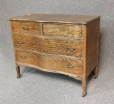 Antique Tiger Oak Chest