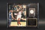 Autographed Michael Jordan Plaque