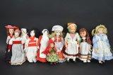 10 Vintage Dolls