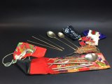 LOT Of Metal Chop Sticks And Spoons