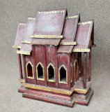 Large Hand Crafted Wooden Thai Spirit House