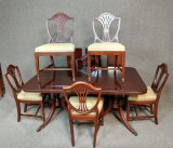 Drexel Dining Room Table With 6 Chairs