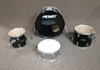 4pc Peavey Drum Set