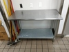 Stainless Steel Kitchen Food Prep Table
