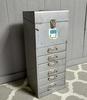 Vintage Tin File Box
