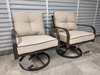 2 NEW Swivel Rocking Patio Chairs