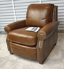 NEW Italian Leather Living Room Chair