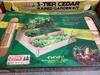 3 Tier Cedar Raised Garden Planter Kit