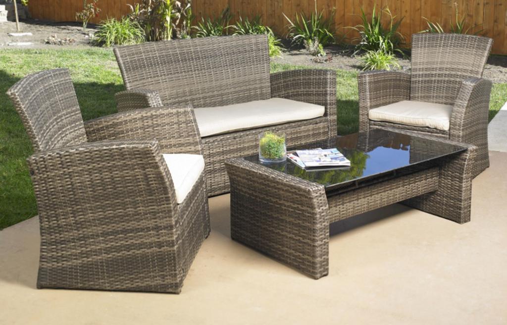 NEW 4pc Mission Hills Redondo Patio Sofa Set
