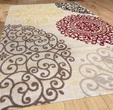 NEW Winston Porter Ingaret Cream Area Rug