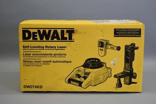 Dewalt Self Leveling Rotary Laser