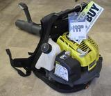 Ryobi 185 MPH 510 CFM Backpack Gas Blower