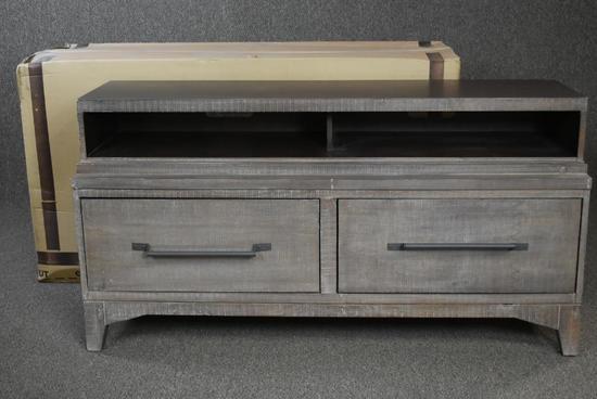 4 New Oak Furniture West Rustic Tv Consoles