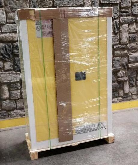 NEW Just Rite Sure Grip EX Flammable Liquid Safety Storage Cabinet