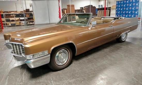 1969 Cadillac Fleetwood Eldorado Convertible