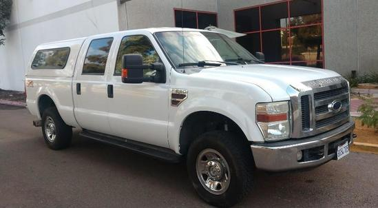 2008 Ford F-250 Turbo Diesel Super Duty