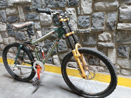 Kona Stinky-Dee-Lux Full Suspension Downhill Mountain Bike