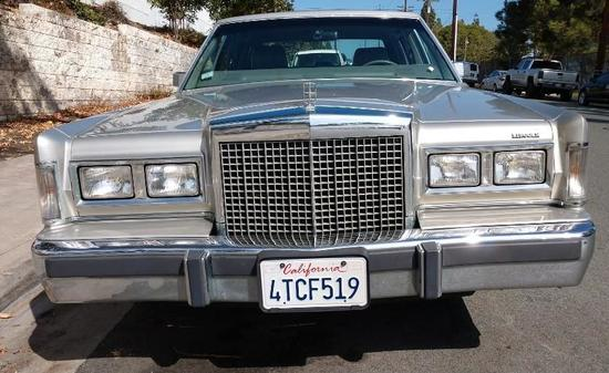 1986 Lincoln Town Car Cartier Designer Series