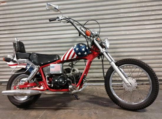 2004 Pagasta...125cc Street Legal Mini Chopper Motorcycle...