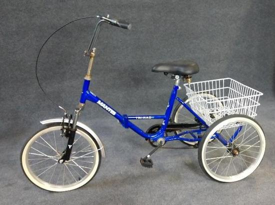 Mantis Tri-Rad Adult Folding Tricycle