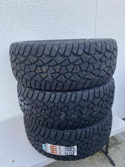3 NEW 255/55 R19 Cooper Zeon LTZ All Terrain Tires