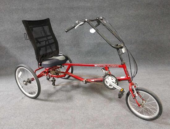 Sun Seeker EZ-Tri Classic Recumbent Bicycle