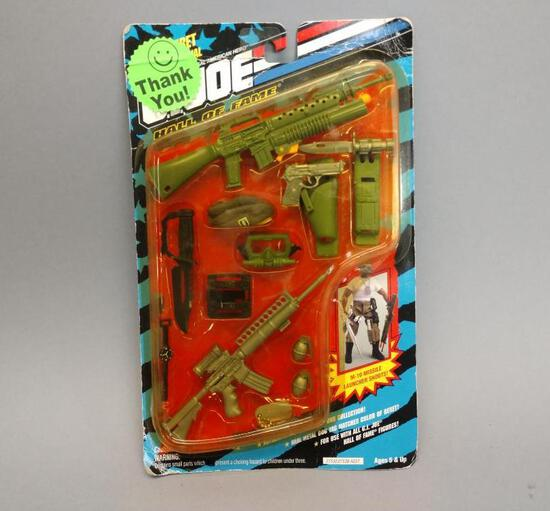 GI Joe Action Figure Weapons Arsenal Set
