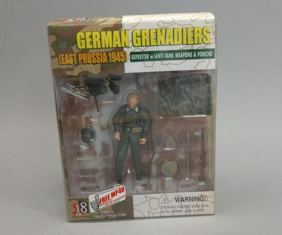 German Grenadiers Action Figure Set