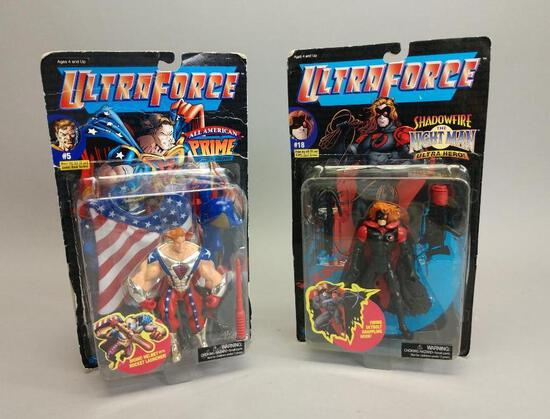 2 Ultra Force Action Figures