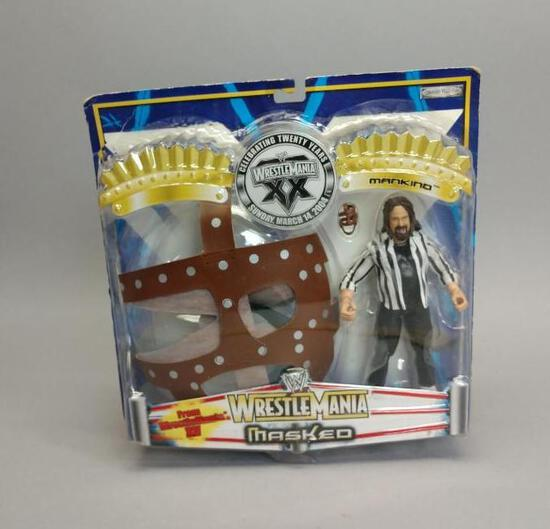 Wrestle Mania Action Figure