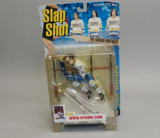 Spawn Slap Shot Jack Hanson Action Figure